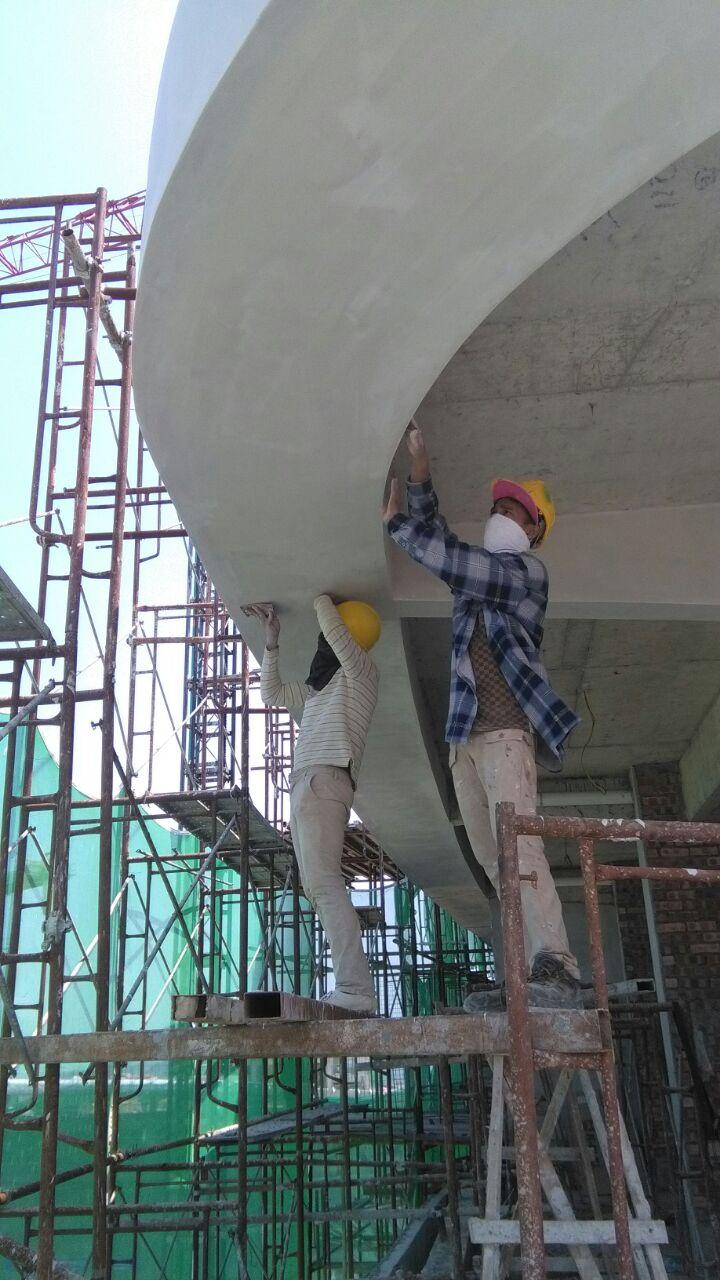 Commercial painting service kung fu painters for Commercial mural