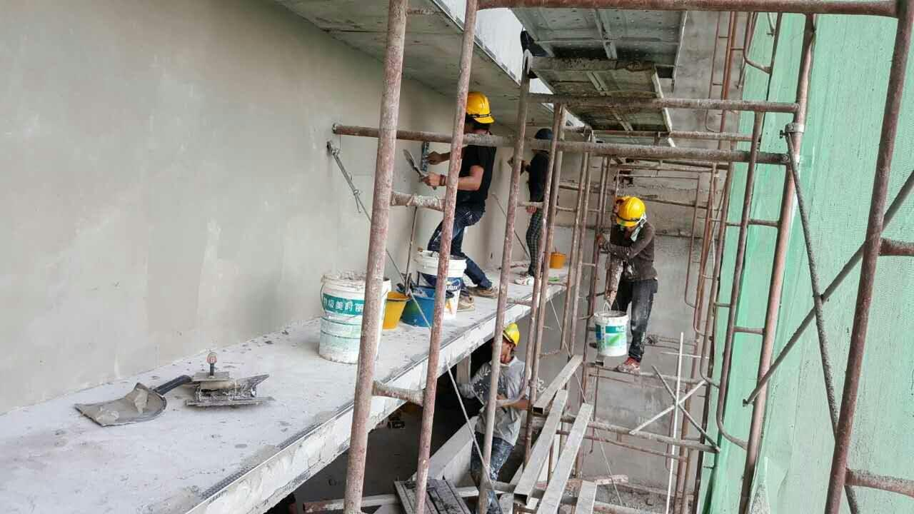Commercial painting service kung fu painters for Industrial painting service